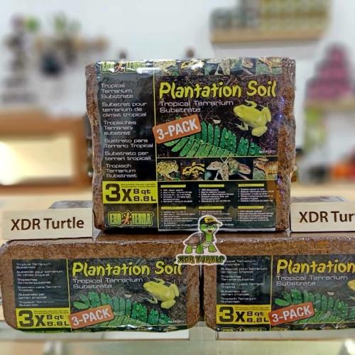 Foto Produk COCOPEAT EXOTERRA PLANTATION SOIL TROPICAL SUBSTARTE ALAS KANDANG - 1 x  8.8L dari XDR TURTLE
