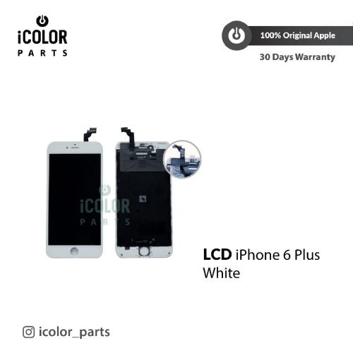 Foto Produk LCD Iphone 6 Plus 6P 6+ Premium/Original Apple Warna Putih/Hitam dari iCOLOR Service