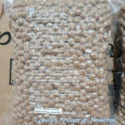 Foto Produk Tapioka Pearl Gundu / Bubble/ Boba 1kg dari Cahaya Anugerah Nasional