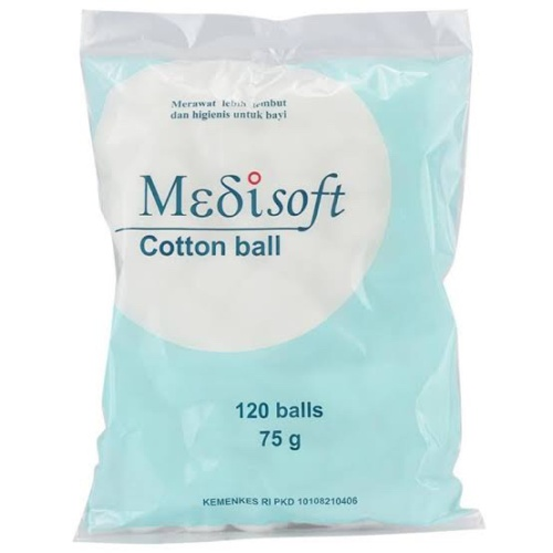 Foto Produk Kapas MEDISOFT Cotton Ball 75gr dari J-Selectiv Kosmetik
