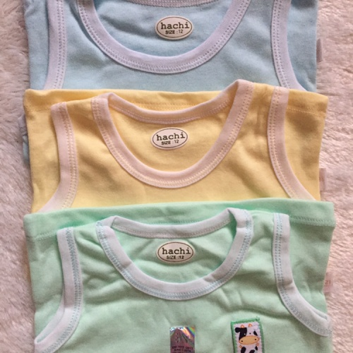 Foto Produk Kaos Hachi oblong singlet baju kutung anak bayi size 6 - 12 bulan dari KidsHans Shop