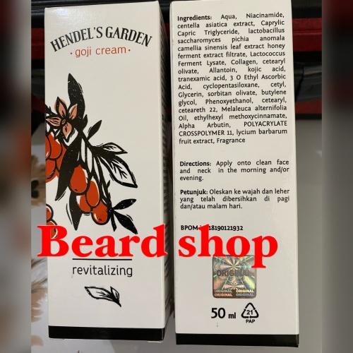 Foto Produk Goji Cream Krim Anti Aging dari Hendel dari beard shop