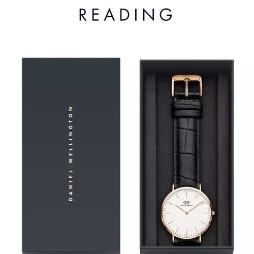 Foto Produk Vj arloji jam tangan pria/wanita classic reading leather strap ori bm dari VJ ARLOJI SHOP