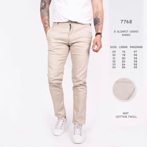Foto Produk celana chino pria squad id cream dari KALIANK