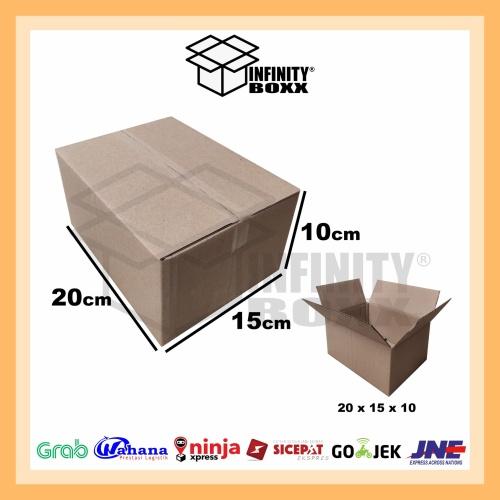 Foto Produk kardus box packaging packing 20x15x10 cm dari infinity boxx