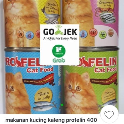 Foto Produk Profelin 400gr cat food makanan kucing setara whiskas dari Grosiran Petshop Bekasi