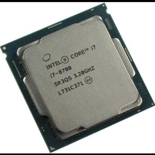 Foto Produk PROCESSOR INTE CORE I7 8700 TRAY + FAN LGA 1151 dari iconcomp