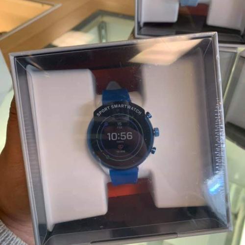 Foto Produk Fossil Gen 4 Sport Smartwatch Rubber Blue FTW6051 New Sealed dari preloved.alika