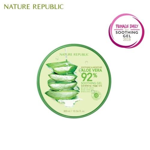 Foto Produk nature republic- aloe vera no kw 100% original korea dari growie park
