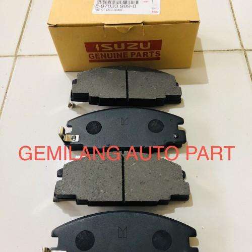 Foto Produk KAMPAS REM DEPAN 1 SET ISUZU PANTHER dari GemiLang Auto Part