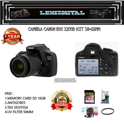 Foto Produk CANON 1200D 18-55 dari lensdigital