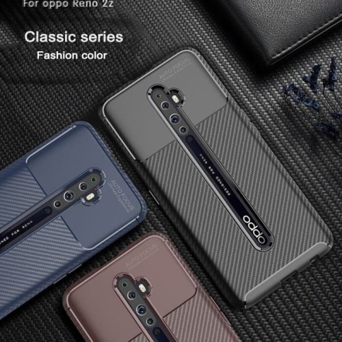 Foto Produk Case Oppo Reno 2f Case Softcase Shockproof Original - Hitam dari BENNY ACC