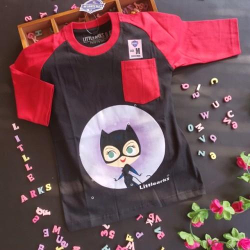 Foto Produk Littlearks Raglan + Batman cewek dari Danisha Collections Dps
