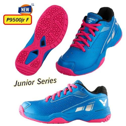 Foto Produk Sepatu Badminton Victor Junior P 9500 / P9500 JR F dari Lefin Sport + Music