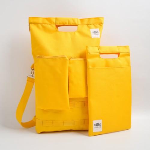 Foto Produk Tas Mojji Seri SHIRO [Kuning] dari Mojji
