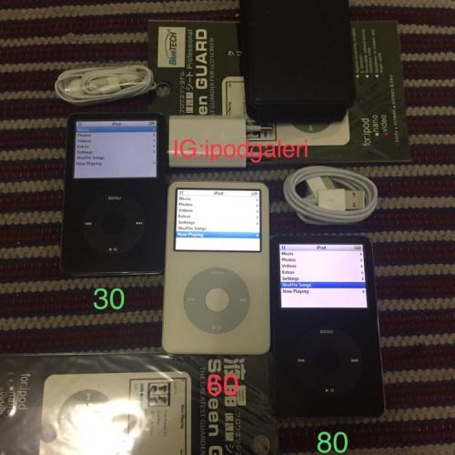 Foto Produk Ipod classic 5,5 th gen 30gb 60gb 80gb wolsfon series dac dari ipod galeri