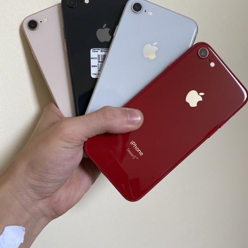 Foto Produk iPhone 8 256GB Bekas Original 100% | Mulus Fullset - SILVER dari QQ store168