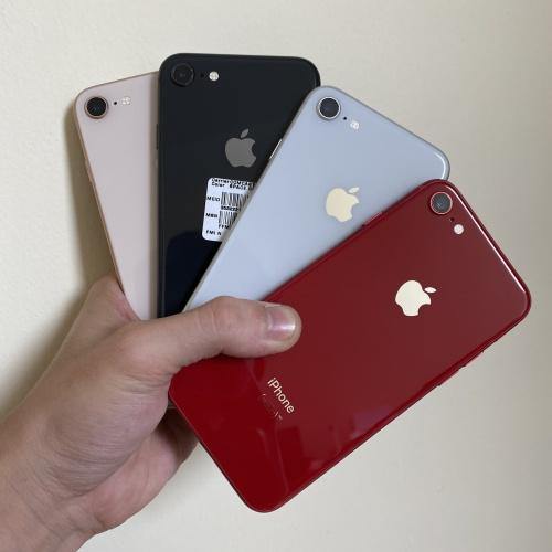 Foto Produk iPhone 8 64GB Bekas original 100% mulus fullset - GREY dari QQ store168
