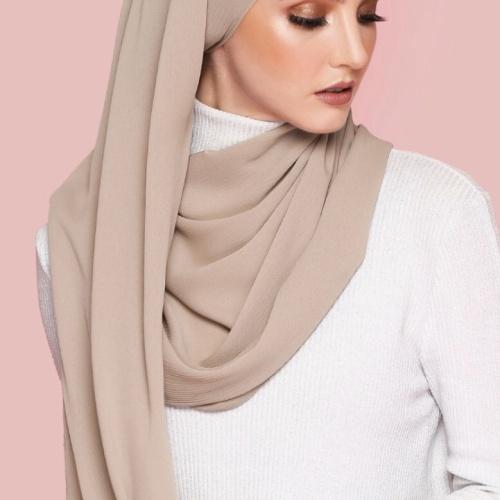 Foto Produk Hijab Ellysha BELLA EXCLUSIVE DRAPPERY SHAWL MOCCA dari Hijab Ellysha Official