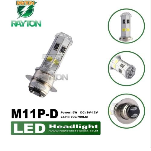Foto Produk Lampu Led Motor Bebek H6 RTD M11P 4 Sisi Original RTD dari RTD LED