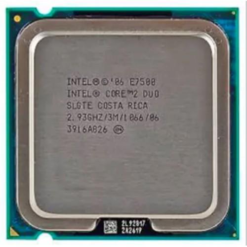 Foto Produk PROCESSOR INTEL CORE 2 DUO 2.93 TRAY E7500 dari iconcomp