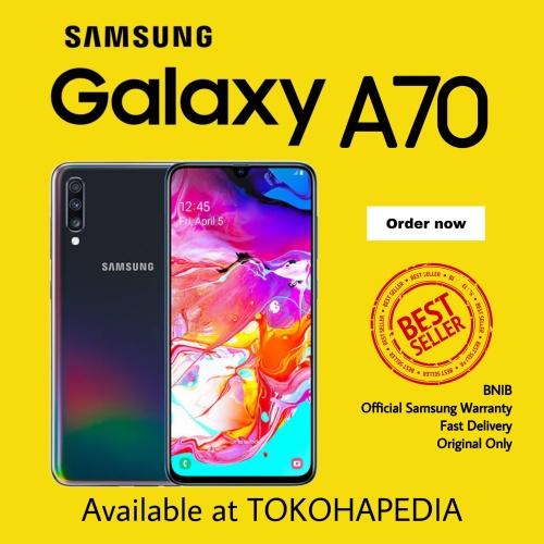 Foto Produk SAMSUNG GALAXY A70 2019 6/128GB GARANSI RESMI SEIN dari tokohapedia