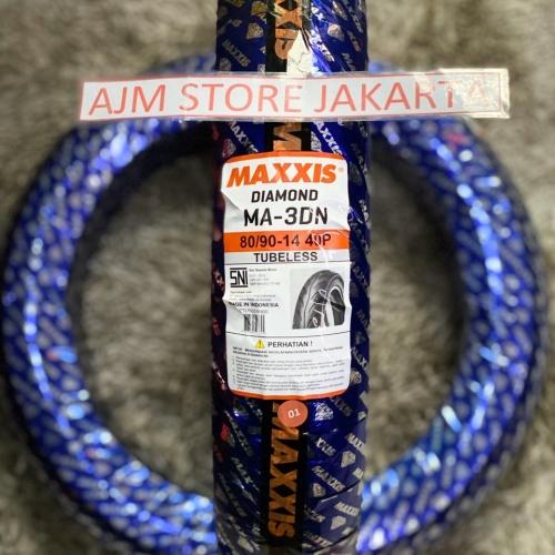 Foto Produk Maxxis MA3DN 80/90-14 Tubeless... dari AJM Store Jakarta