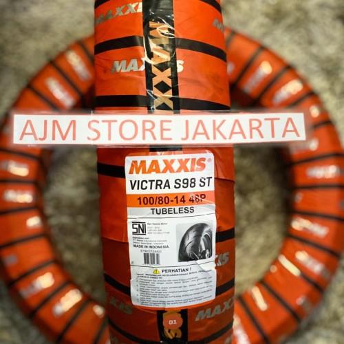 Foto Produk Maxxis Victra S98 ST 100/80-14 Tubeless... dari AJM Store Jakarta