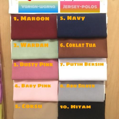Foto Produk Kain jersey Polos Super - Putih Bersih dari Lestaritextile