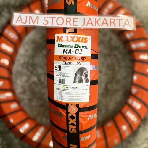 Foto Produk Maxxis Ma-G1 Green Devil 90/80-17 Tubeless.. dari AJM Store Jakarta
