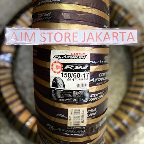 Foto Produk Corsa Platinum R93 150/60-17 Tubeless.. dari AJM Store Jakarta