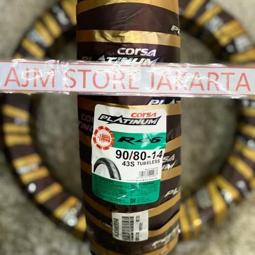 Foto Produk Corsa R46 90/80-14 Tubeless... dari AJM Store Jakarta