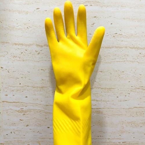 Foto Produk Sarung Tangan Karet / Sarung Tangan Latex Tebal Berkualitas - Kuning dari Kana Berkat Abadi