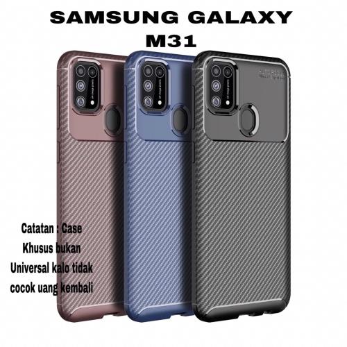 Foto Produk Case Samsung Galaxy M31 Case Softcase Rugged Armor Original dari BENNY ACC