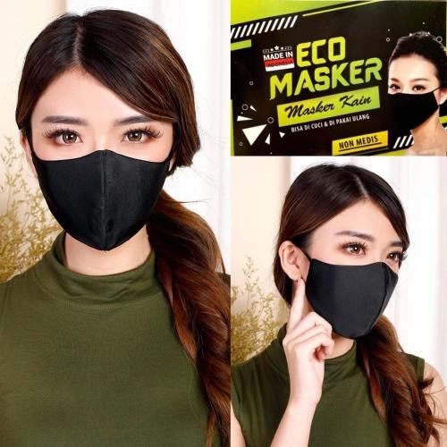 Foto Produk ECO Masker - Masker Kain Non Medis - Bisa di Cuci dari Hiroshi official