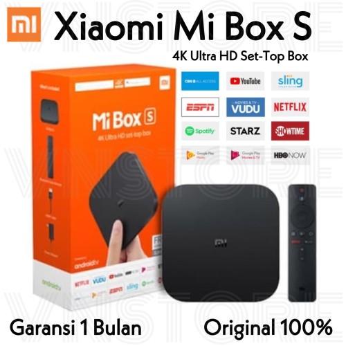 Foto Produk Xiaomi Mi Box S 4K Ultra HDR Android TV Box International Version dari VN.Store