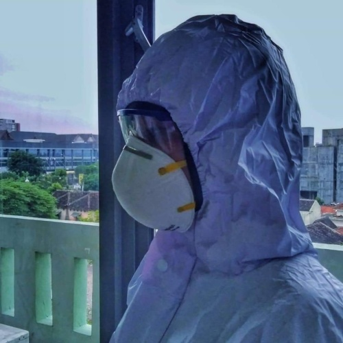 Foto Produk Baju APD PVC, Baju Alat Pelindung Diri Waterproof, Baju Hamzat dari BigOneIndo