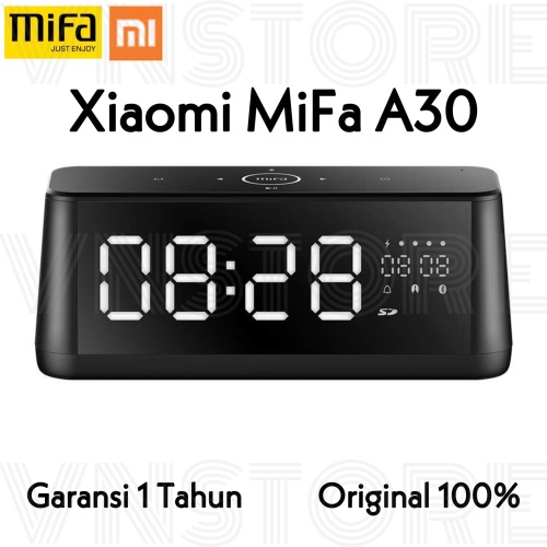 Foto Produk Mifa A30 Speaker Bluetooth 4.2 Sound Alarm Digital Screen dari VN.Store