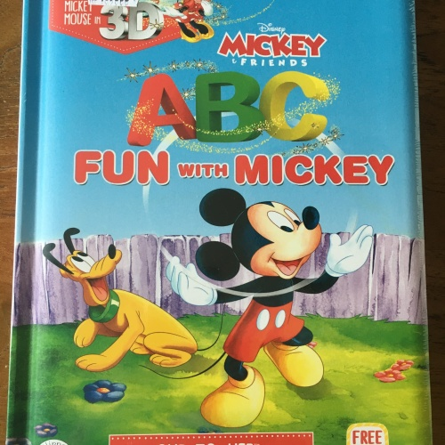 Foto Produk Buku import 3D Hippo Magic Seri DISNEY ABC FUN WITH MICKEY & Friends dari Hiroshi official