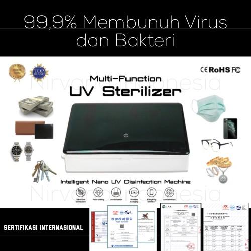 Foto Produk UV Sterilizer Anti Virus Corona untuk Masker, Hp, Uang, Dompet, Kunci dari Nirvana Indonesia