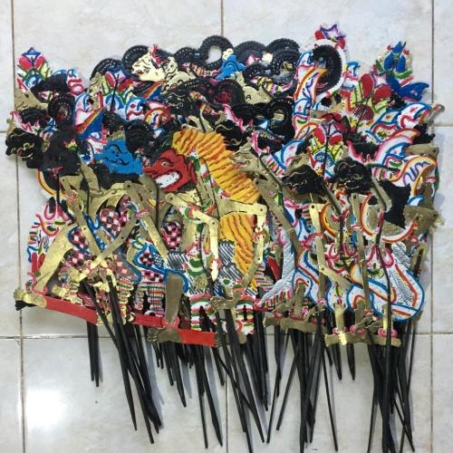 Foto Produk Wayang Kulit Mini 30 cm dari Wayang-Store