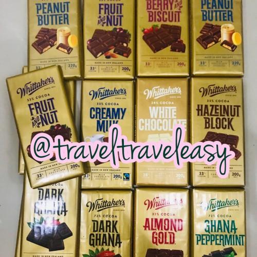 Foto Produk Whittakers Chocolate Coklat Asli 200gram - CREAMY MILK dari traveltraveleasy