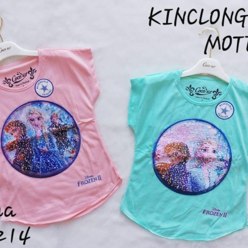 Foto Produk Kaos SEQUIN FROZEN WARNA WARNI merk COCOICE dari Hanake Collection