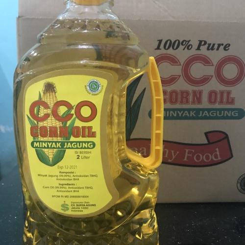 Foto Produk Minyak Jagung CCO Corn Oil 2 Liter dari Sanhor 12