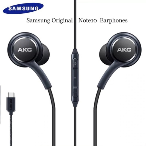 Foto Produk HEADSET HEANSFREE EARPHONE ORIGINAL 100% SAMSUNG AKG NOTE 10+ TYPE C dari Ewaa_shop