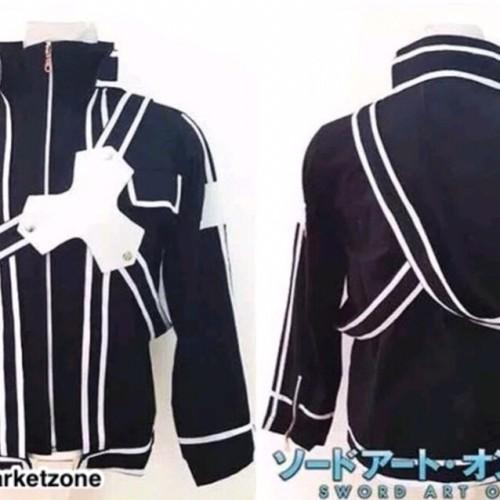 Foto Produk Jaket Kirito Midnight Cosplay Casual Anime SAO Sword Art Online - M dari ANIME MARKET ZONE