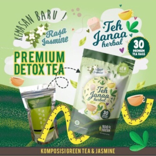 Foto Produk Teh Janaa Original dari Herbis