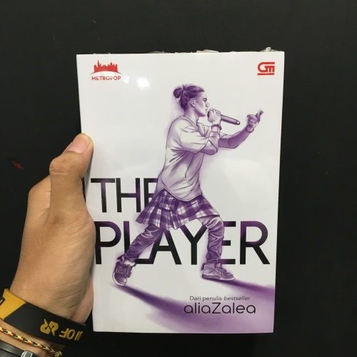 Foto Produk Buku Metropop : The Player - Aliazalea dari Zipxy Up