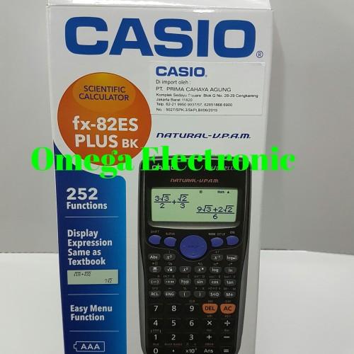 Foto Produk Casio FX-82ES PLUS - Calculator Scientific Kalkulator Kuliah Sekolah dari Omega Electronic