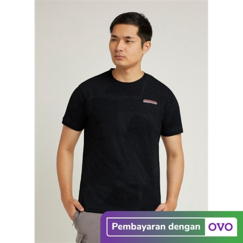 Foto Produk CoreNation Basic Men Unrivalled Top - Hitam, L dari CoreNation Active
